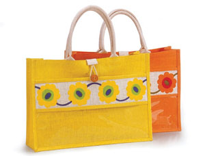 DB1 DESIGNER JUTE BAG WITH COTTON WEB 